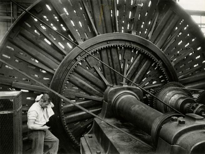 Jakob Tuggener(1904-1988) 'Lathe, Maschinenfabrik Oerlikon' 1949