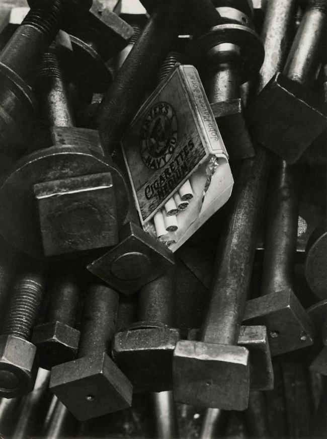 Jakob Tuggener(1904-1988) 'Navy Cut, Ateliers de construction mécanique Oerlikon (MFO)' [Navy Cut, Machine Shops Oerlikon (MFO)] 1940