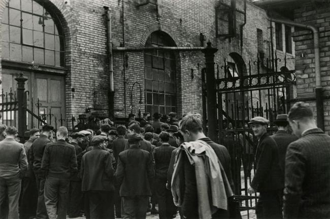 Jakob Tuggener(1904-1988) 'Plant entrance, Oerlikon Machine Factory' 1934