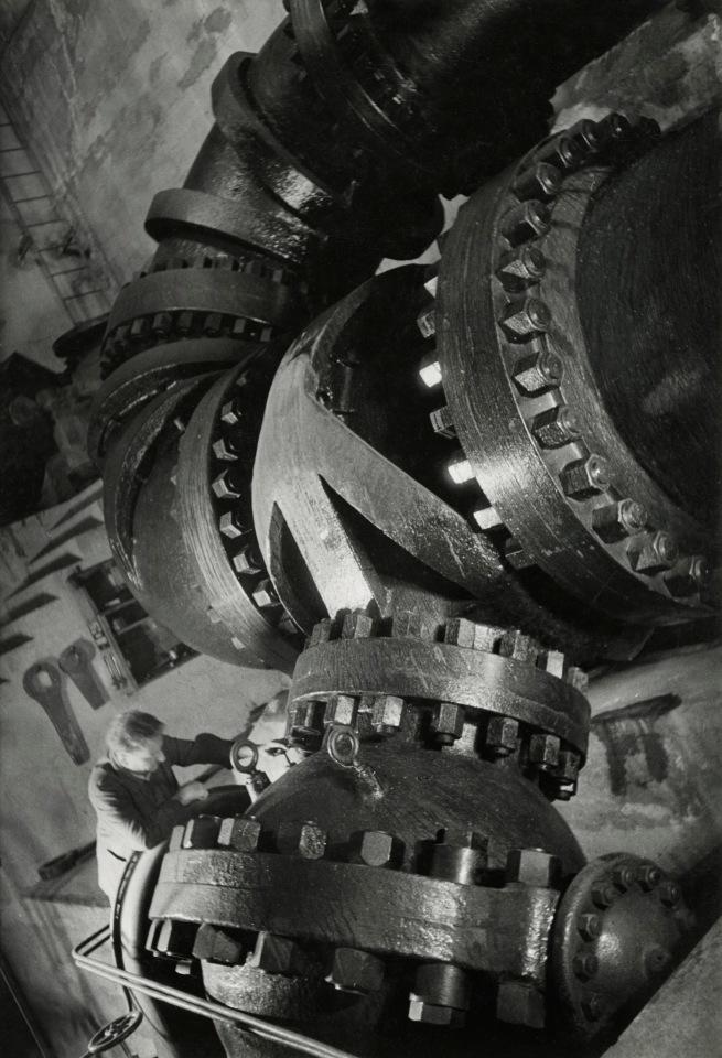 Jakob Tuggener(1904-1988) 'Pressure pipe, Vernayaz' 1938