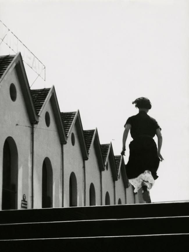 Jakob Tuggener(1904-1988) 'Running girl in the Maschinenfabrik Oerlikon' 1934