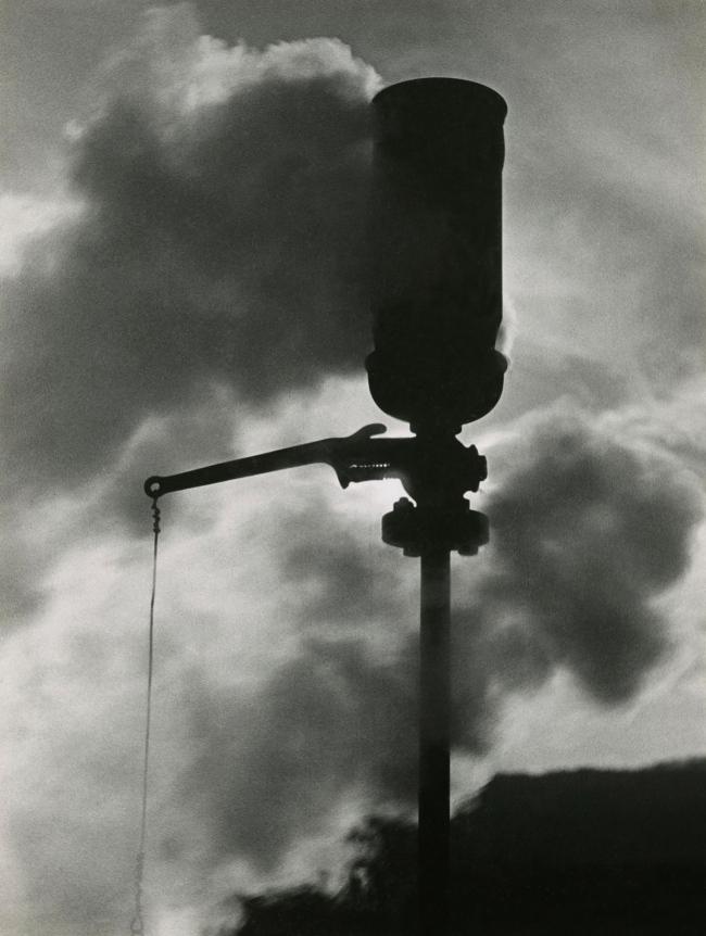 Jakob Tuggener(1904-1988) 'Steam whistle, Steckborn artificial silk factory' 1938