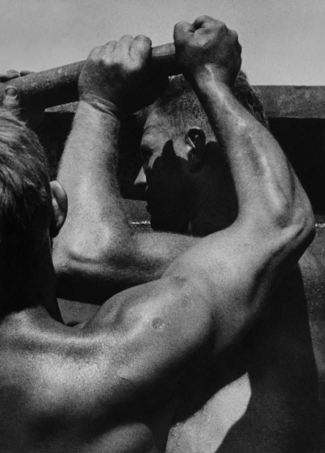 Jakob Tuggener(1904-1988) 'Untitled (Arms of work)' c. 1947