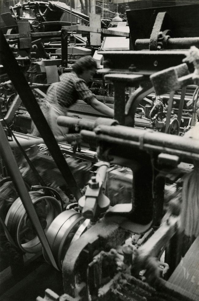 Jakob Tuggener(1904-1988) 'Weaving mill, Glattfelden' 1940s