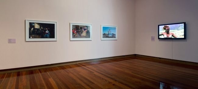 Installation view of the exhibition 'All the better to see you with: Fairy tales transformed' at The Ian Potter Museum of Art, Melbourne