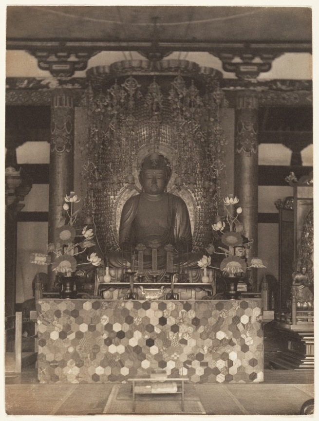 Adolf de Meyer (American (born France), Paris 1868-1946 Los Angeles, California) '[Amida Buddah, Japan]' 1900