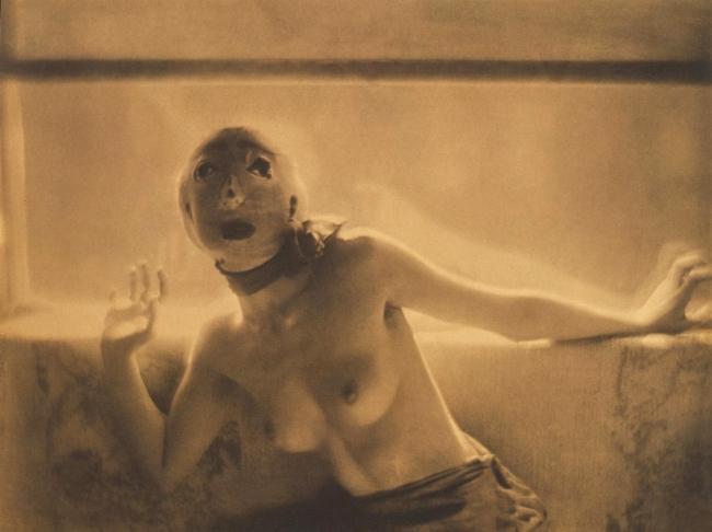 Adolf de Meyer (American (born France), Paris 1868-1946 Los Angeles, California) '[Dance Study]' c. 1912