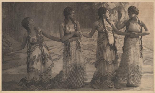 "Adolf de Meyer (American (born France), Paris 1868-1946 Los Angeles, California) '[Image from ""Prelude à l'Après-Midi d'un faune""]' 1914"