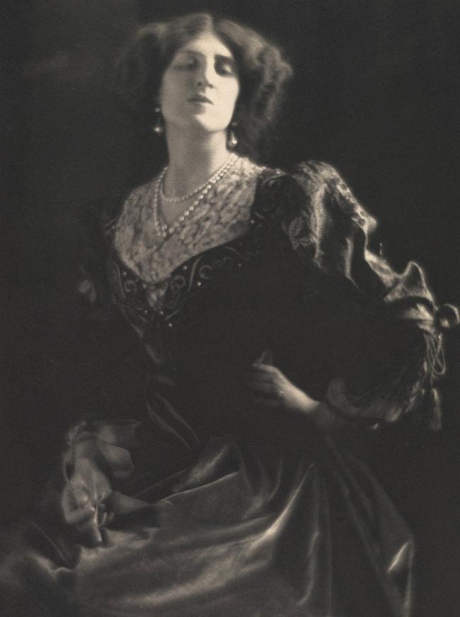 Adolf de Meyer (American (born France), Paris 1868-1946 Los Angeles, California) '[Lady Ottoline Morrell]' c. 1912