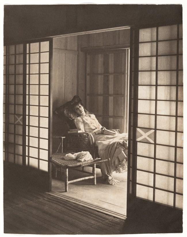 Adolf de Meyer (American (born France), Paris 1868-1946 Los Angeles, California) 'Olga de Meyer, Japan' 1900
