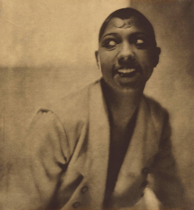 Adolf de Meyer (American (born France), Paris 1868-1946 Los Angeles, California) 'Portrait of Josephine Baker' 1925