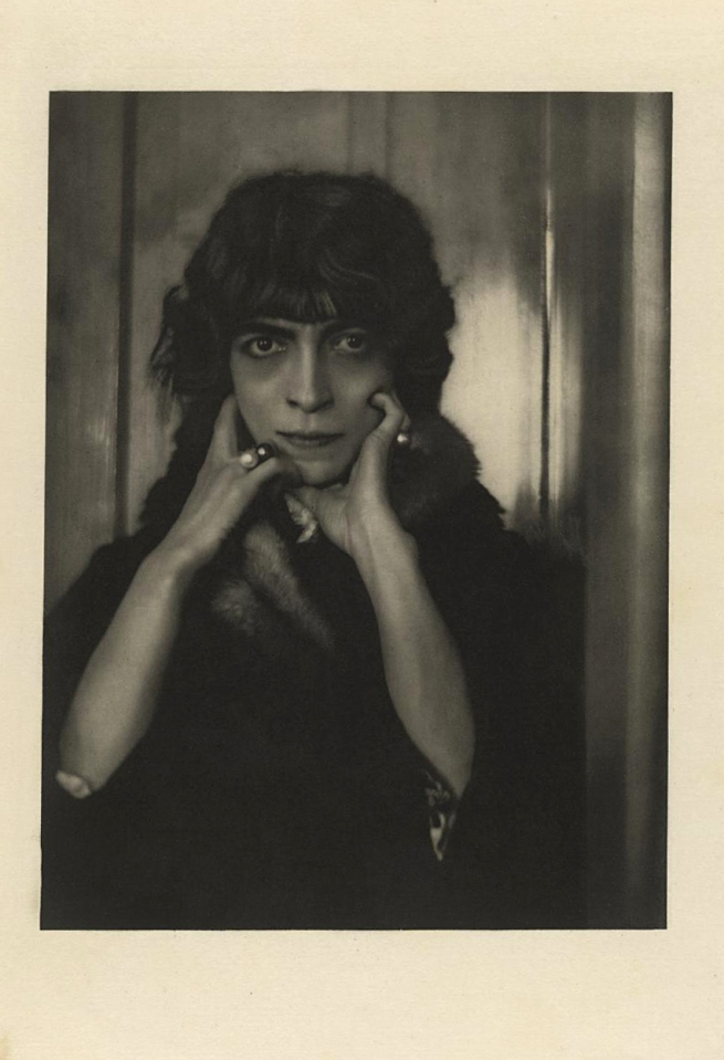 Adolf de Meyer (American (born France), Paris 1868-1946 Los Angeles, California) 'Portrait of the Marchesa Casati' 1912