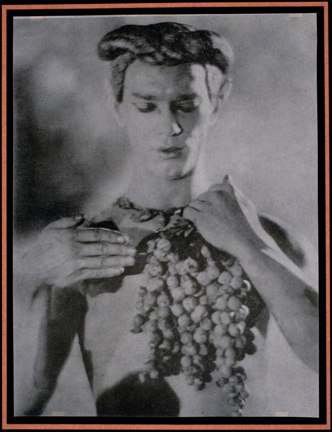 Adolf de Meyer (American (born France), Paris 1868-1946 Los Angeles, California) 'Nijinsky [Plate from Le Prelude à l'Après-Midi d'un Faune]' 1912