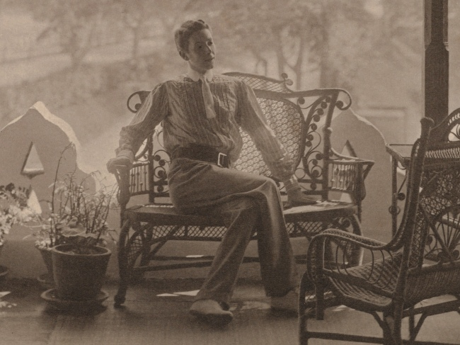 Adolf de Meyer (American (born France), Paris 1868-1946 Los Angeles, California) '[Self-Portrait in India]' (detail) 1900