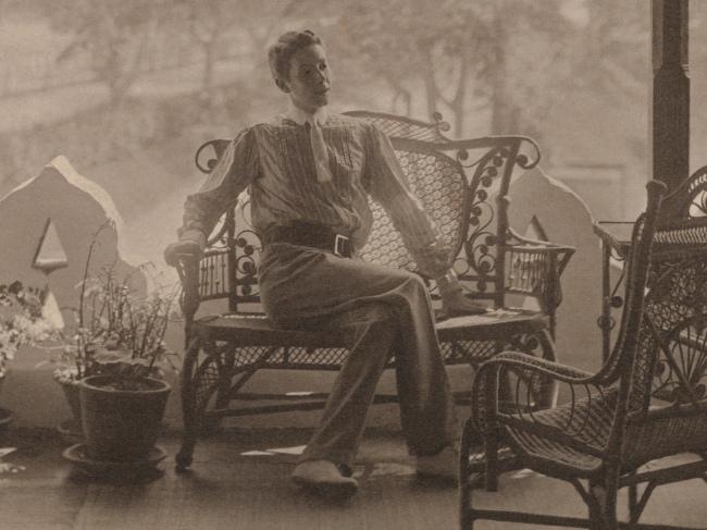 Adolf de Meyer (American (born France), Paris 1868-1946 Los Angeles, California) '[Self-Portrait in India]'(detail) 1900