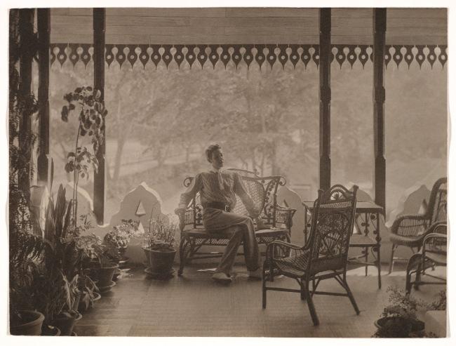 Adolf de Meyer (American (born France), Paris 1868-1946 Los Angeles, California) '[Self-Portrait in India]' 1900