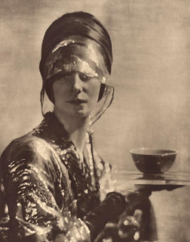 Baron Adolf De Meyer (American, born France, 1868-1946) 'The Cup' c. 1910