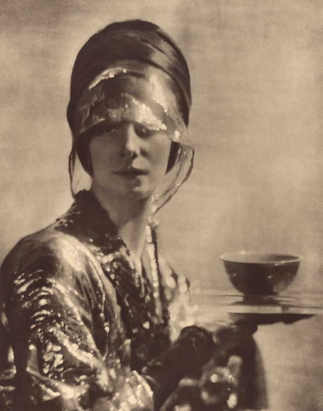 Baron Adolf De Meyer (American, born France, 1868-1946) 'The Cup' c. 1910