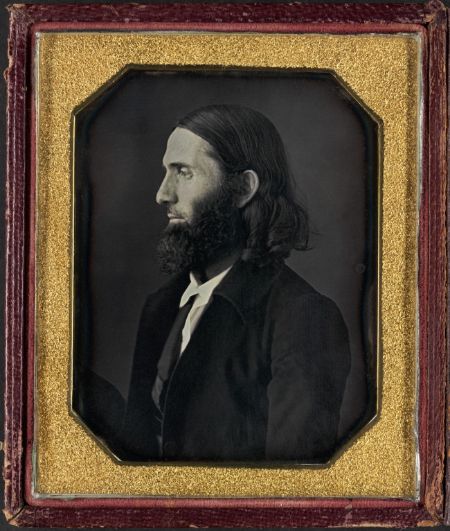 William J.Shew (American, 1820-1903) 'Charles Calistus Burleigh (1810-1878)' c.1845-1850
