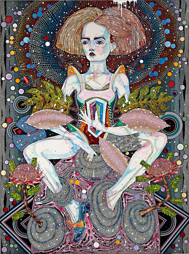Del Kathryn Barton. 'openly song' 2014