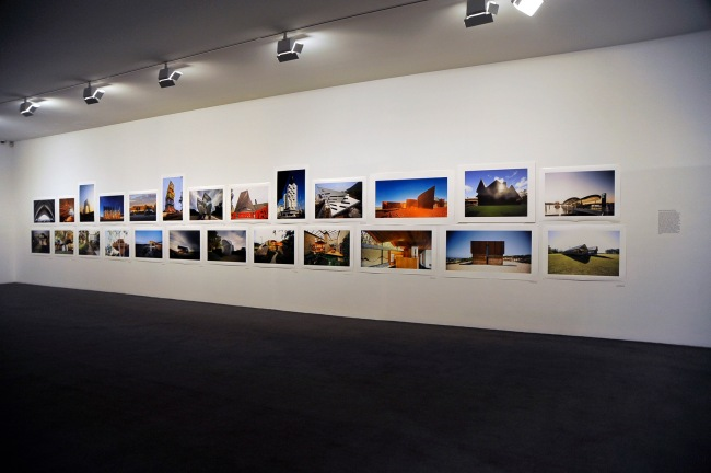 Installation view of the exhibition 'John Gollings' at the Monash Gallery of Art, Melbourne