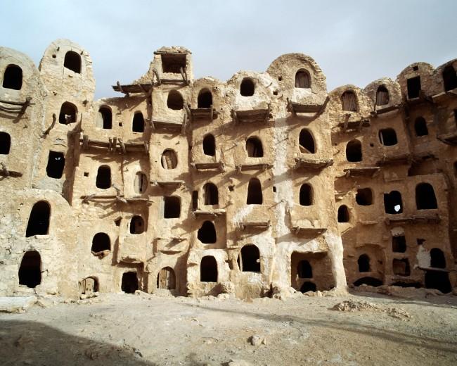 John Gollings. 'Kabaw Berber Granary, Kabaw, Libya' 2005