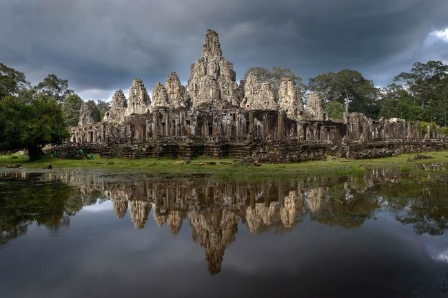John Gollings. 'Bayon, Angkor Thom, Cambodia' 2012