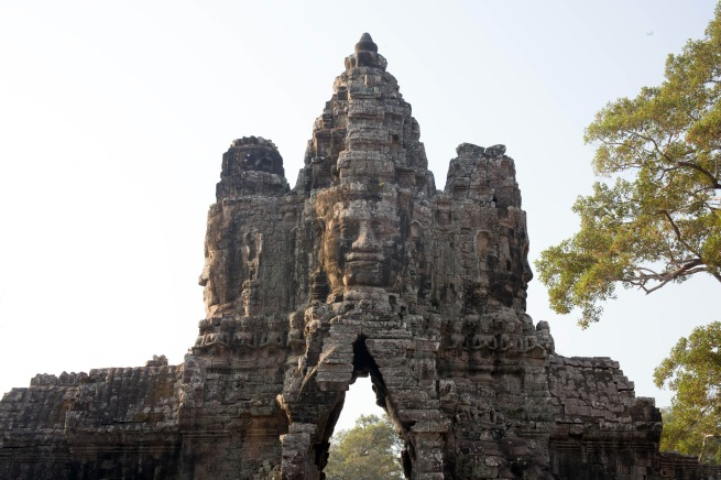 John Gollings. 'North face, south gate, Angkor Thom, Cambodia' 2007