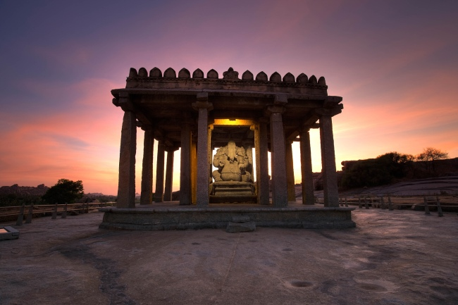 John Gollings. 'Small Ganesh, Hampi, India' 2006