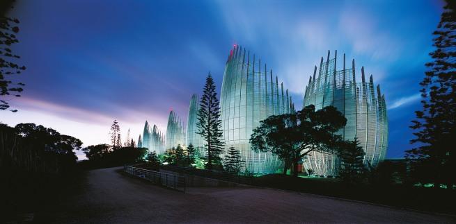 John Gollings. 'Jean-Marie Tjibaou Cultural Centre (Renzo Piano), Nouméa, New Caledonia.' 1997