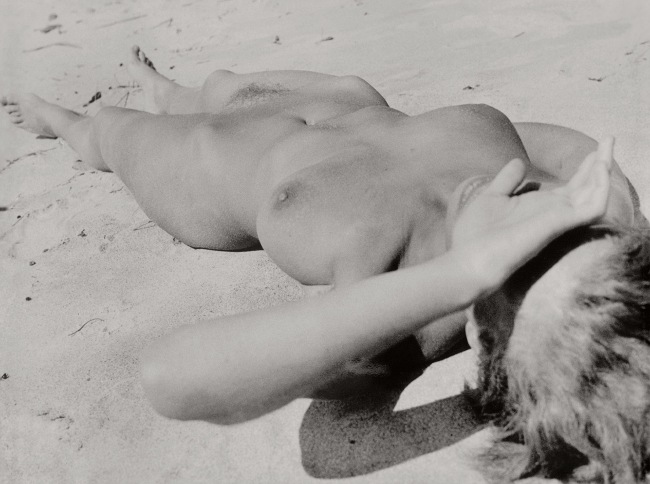 Raoul Hausmann (1886-1971) 'Nu sur la plage [Nude on the beach]' Between 1927 and 1933
