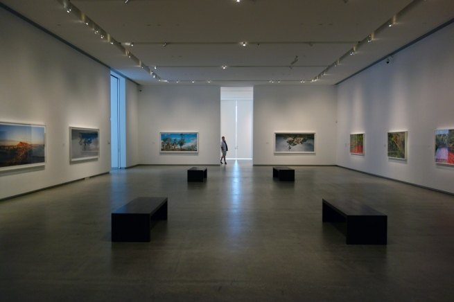 Installation view of the exhibition 'Rosemary Laing' at the TarraWarra Museum of Art