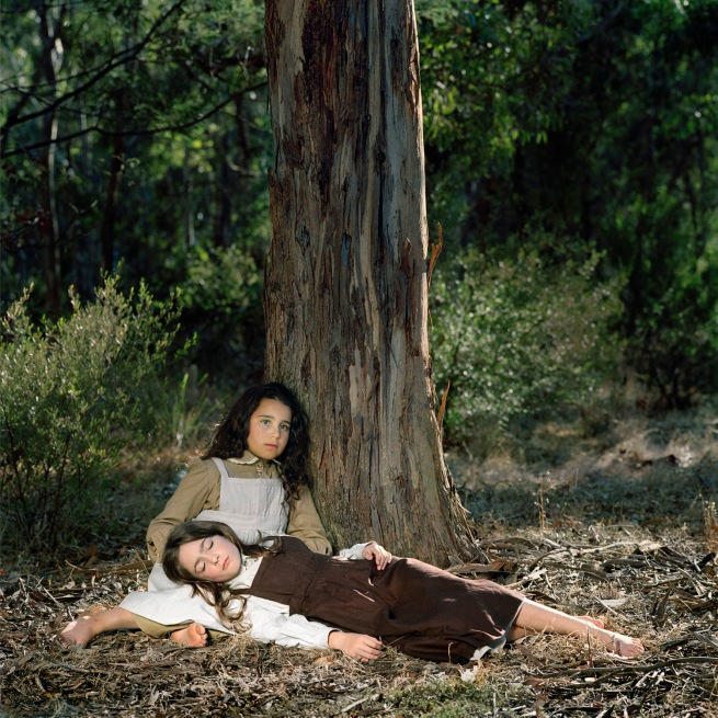 Polixeni Papapetrou. 'By the Yarra 1857 #1' 2006
