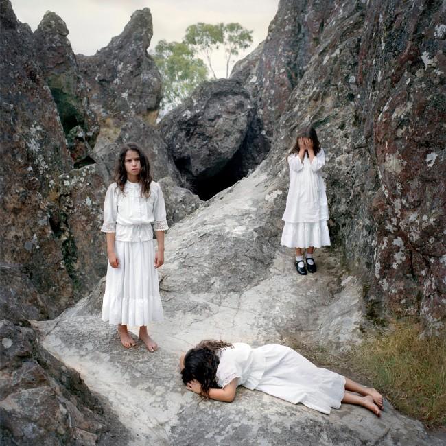 Polixeni Papapetrou. 'Hanging Rock 1900 #3' 2006
