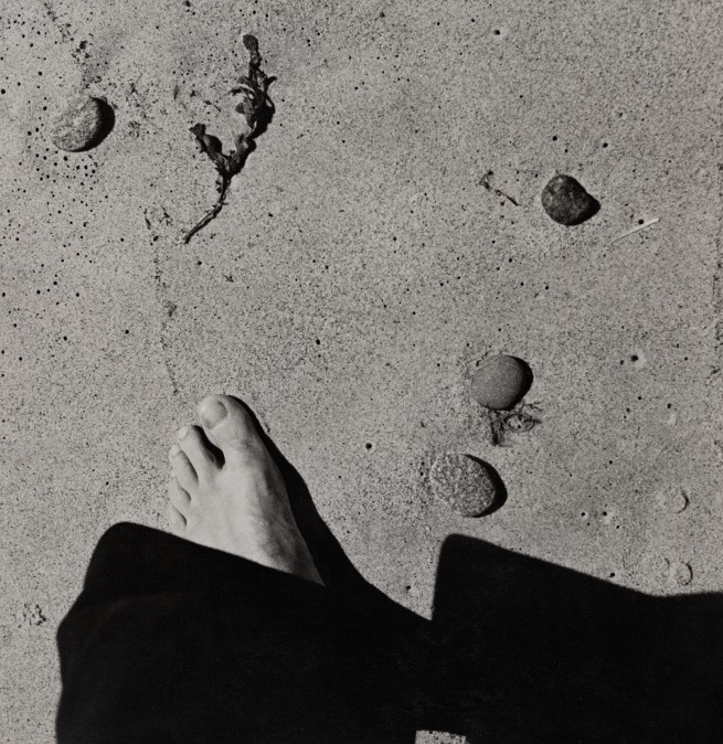 Raoul Hausmann (1886-1971) 'Untitled (Foot in the sand)' c. 1931