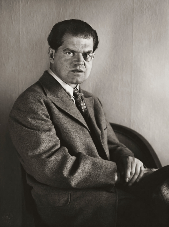 August Sander (1876-1964) 'Inventor and Dadaist [Raoul Hausmann]' 1929, printed 1990