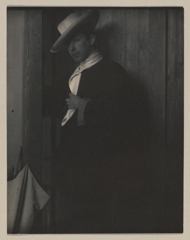 Sarah Choate Sears (American, 1858-1935) 'A Mexican [Adolf de Meyer (American (born France), Paris 1868-1946 Los Angeles, California)]' 1905