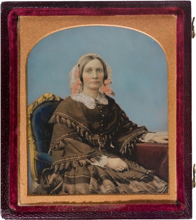 Thomas Bock (attributed to) (England 1790 - Australia 1855, Australia from 1824) 'Margaret Robertson' c. 1852