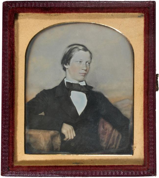 Thomas Bock (attributed to) (England 1790 - Australia 1855, Australia from 1824) 'William Robertson Jnr.' c. 1852
