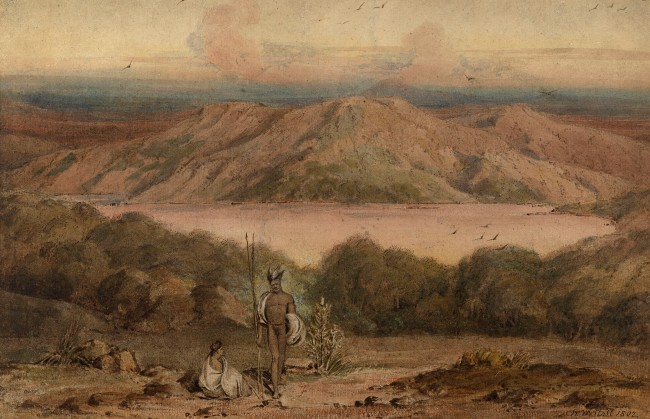 William Westall. 'A view of King George's Sound' 1802