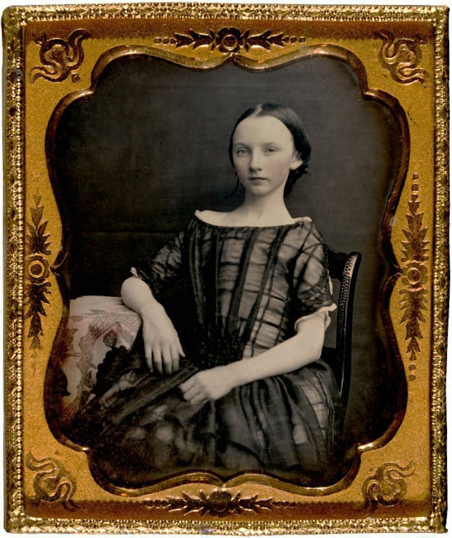 Unknown photographer. 'Emily Spencer Wills' c. 1859