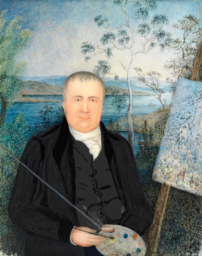Mary Morton Allport (England 1806 - Australia 1895, Australia from 1830) 'John Glover' c. 1832