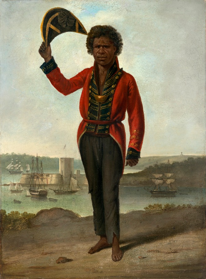 Augustus Earle. 'Portrait of Bungaree, a native of New South Wales' c. 1826