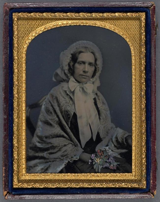 Freeman Brothers Studio. 'Jemima Jane Davis' c. 1860