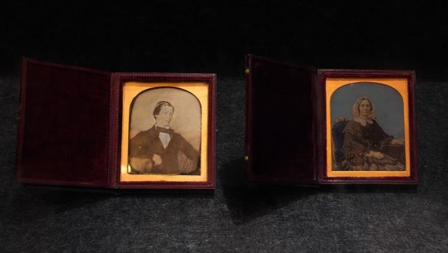 Thomas Bock. 'William Robertson Jnr.' c. 1852 and 'Margaret Robertson' c. 1852