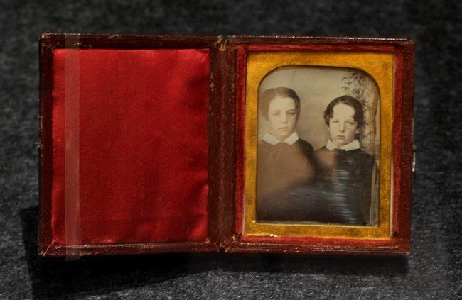 Thomas Bock (England 1790 - Australia 1855, Australia from 1824) 'No title (Portrait of two boys)' 1848-50