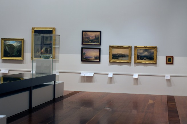 Installation view of the exhibition 'Colony: Australia 1770 - 1861' at NGV Australia at Federation Square, Melbourne