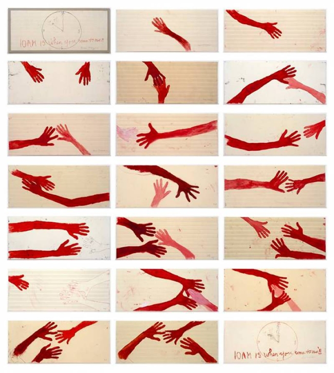 Louise Bourgeois. '10 AM IS WHEN YOU COME TO ME' 2006