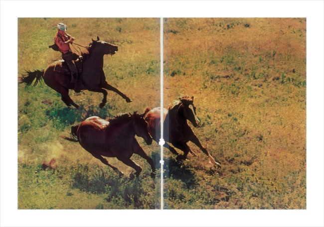 Richard Prince. 'Untitled (cowboy)' 2015