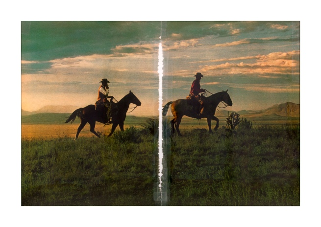 Richard Prince. 'Untitled (cowboy)' 2016